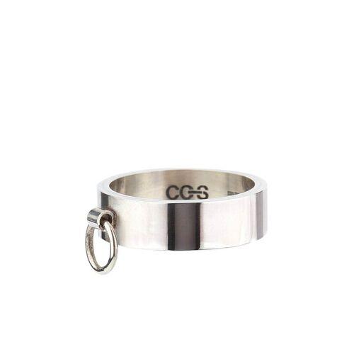 Cc Steding Knock flat band ring - Silber Female regular
