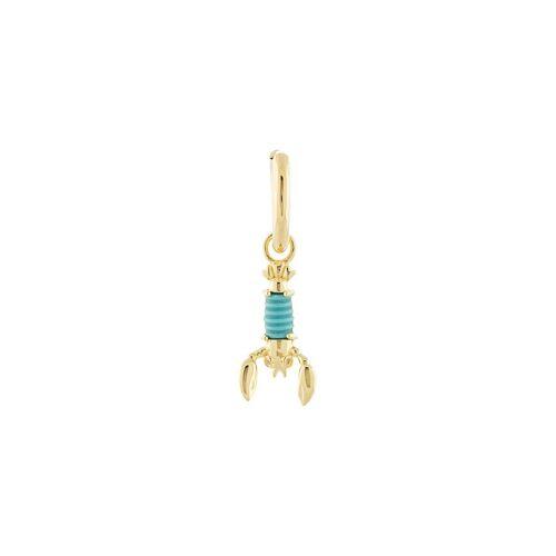 Eshvi Ohrring mit Hummer-Anhänger - Gold Male regular
