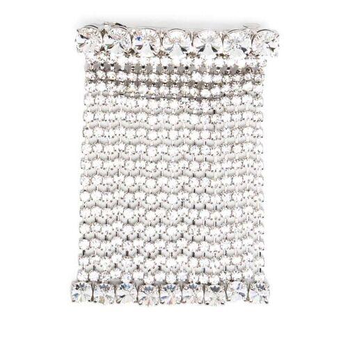 Miu Miu Haarspange mit Kristallen - Silber Female regular