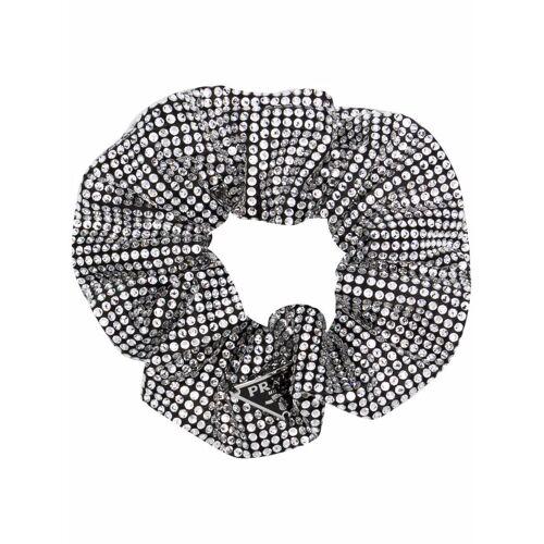 Prada Haargummi mit Kristallen - Silber Male regular