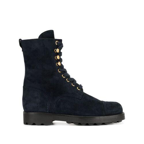 Chanel Pre-Owned Stiefel mit Schnürung - Blau Unisex regular