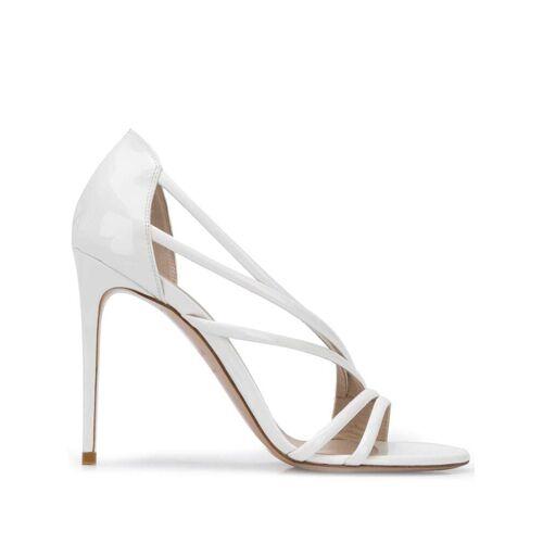 Le Silla Stiletto-Sandalen, 105mm - Weiß Male regular
