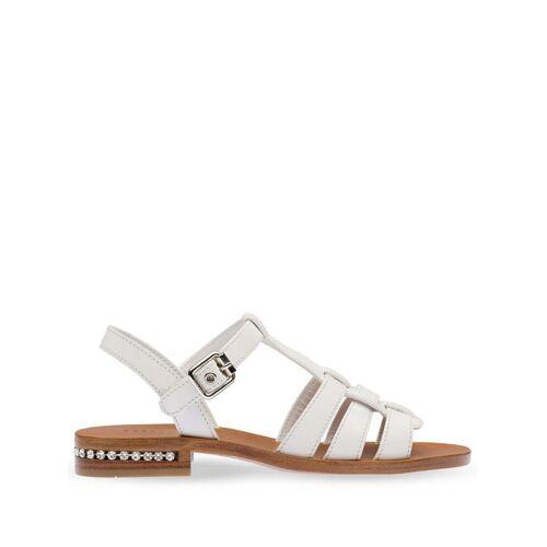 Miu Miu Sandalen mit Kristallen - Weiß Male regular