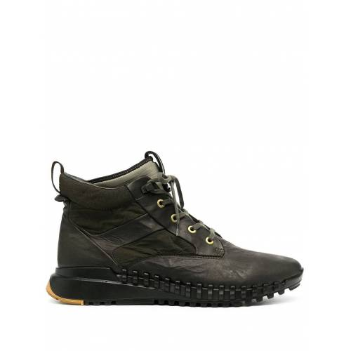 Stone Island Sneaker-Boots - Grün Male regular