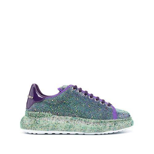 Philipp Plein Sneakers mit Kristallen - Violett Unisex regular