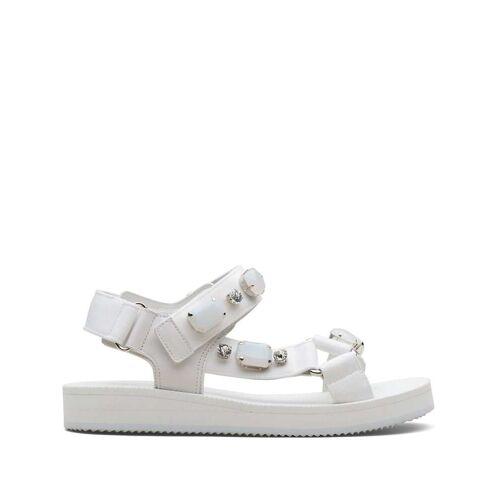 Car Shoe Sandalen mit Kristallen - Weiß Male regular