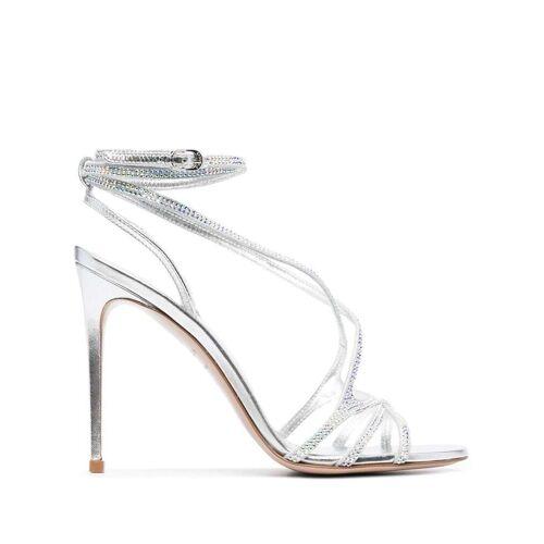 Le Silla Stiletto-Sandalen - Grau Male regular