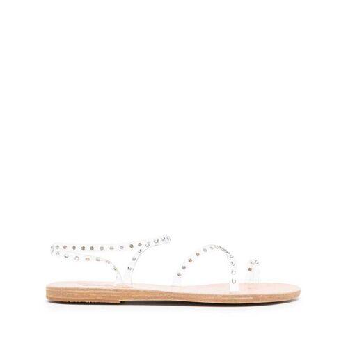 Ancient Greek Sandals Sandalen mit Kristallen - Weiß Male regular