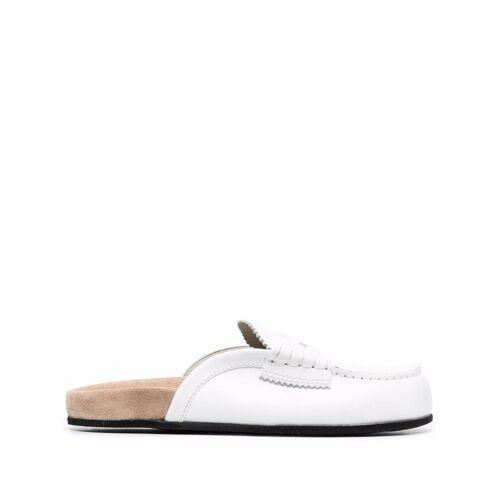 college Mules im Loafer-Stil - Weiß Male regular