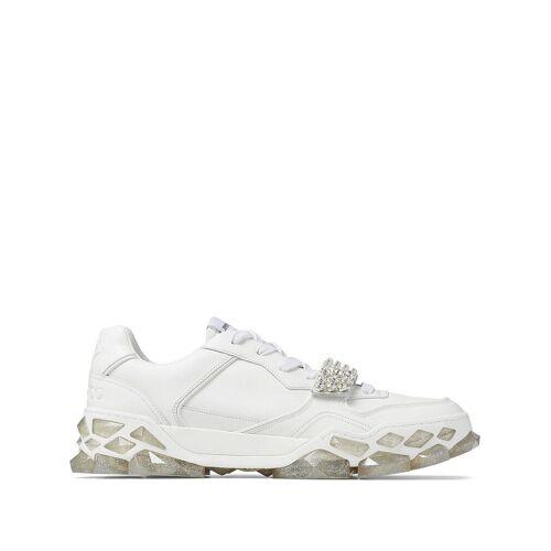 Jimmy Choo Diamond X Sneakers mit Kristallen - Weiß Female regular