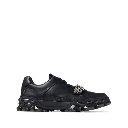 Jimmy Choo Diamond X Sneakers mit Kristallen - Schwarz Unisex regular