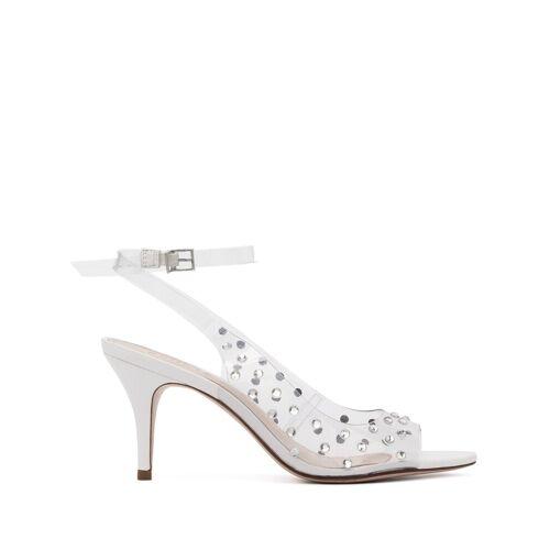 Schutz Sandalen mit Kristallen - Weiß Female regular