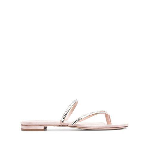 Schutz Sandalen mit Kristallen - Rosa Female regular