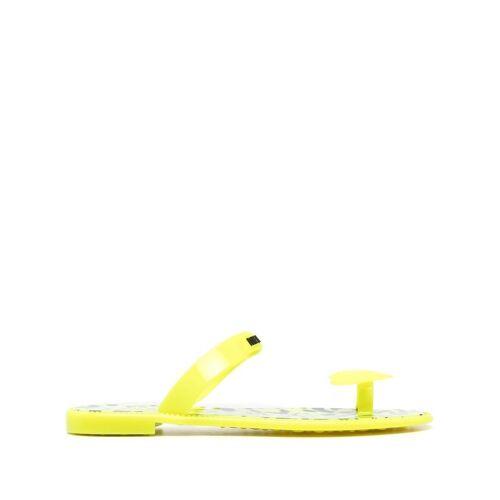 Love Moschino Sandalen mit Zehenring - Gelb Female regular