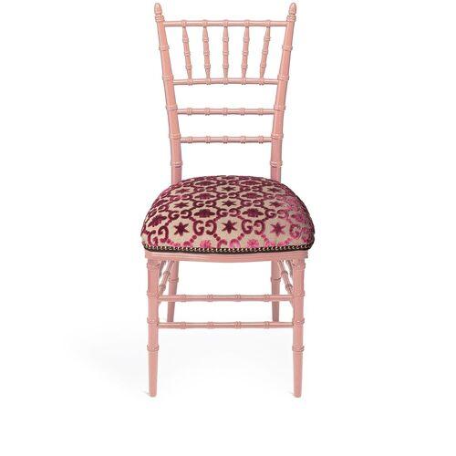 Gucci 'Chiavari' Stuhl - Rosa Male regular