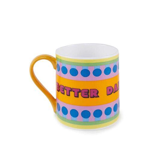 Yinka Ilori Better Days Are Coming I Promice Becher - Mehrfarbig Male regular