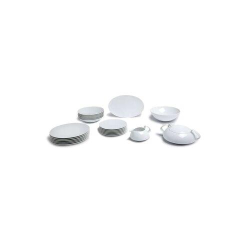 Rosenthal 22-teiliges TAC Gropius Geschirr-Set - Weiß Male regular