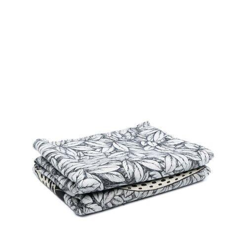 Fornasetti Decke mit Print - Blau Female regular