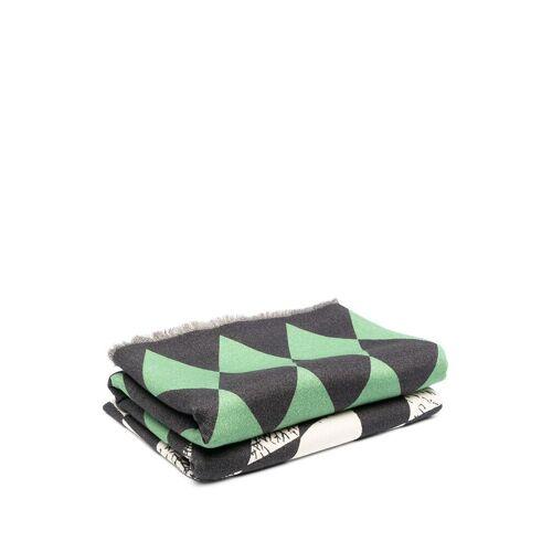 Fornasetti Decke mit Muster - Grün Female regular
