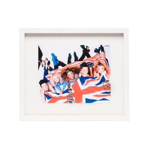 Browns X The Dan Life Gerahmtes 'The Spice Girls' Bild (35cm x 41cm) - Weiß Male regular