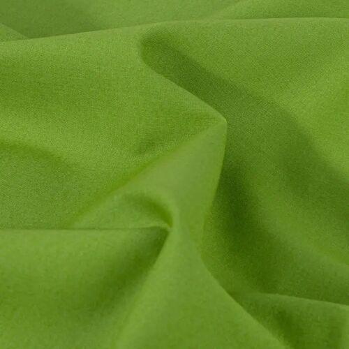 PRYM Baumwollstoff Uni - grün, Stoffe, 1m grün