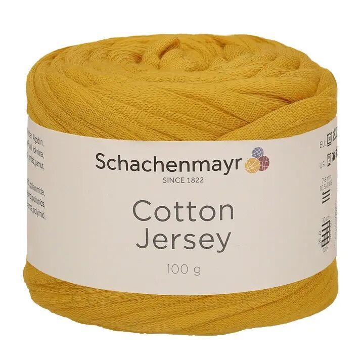 Schachenmayr Cotton Jersey - 22 gold, Baumwolle, 100g gelb