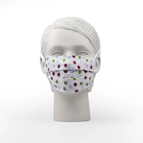 PRYM Mund-Nasen-Maske, one size, 1-lagig, gepunktet,