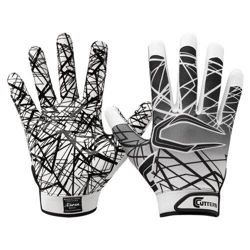 Cutters S150 Game Day Receiver Handschuhe Senior - weiß Gr. XL