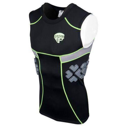 BADASS FOOTBALL BADASS 3 Pad Tank Top, Shirt - schwarz Gr. 3XL