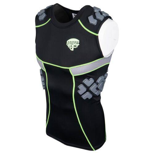 BADASS FOOTBALL BADASS 5 Pad Tank Top, Shirt - schwarz Gr. L