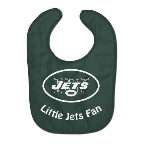 WinCraft NFL New York Jets Team Color All Pro Little Fan Baby Lätzchen