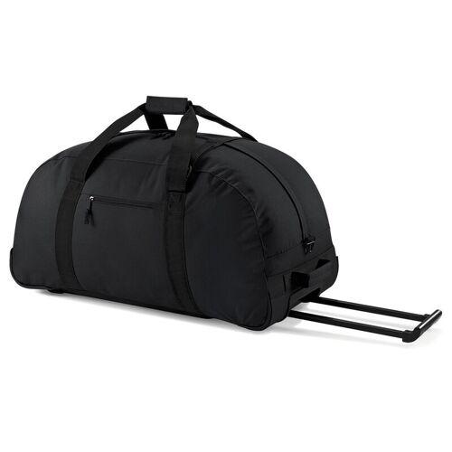 BagBase Große Spielertasche, Football Equipment Tasche mit Rollen - schwarz