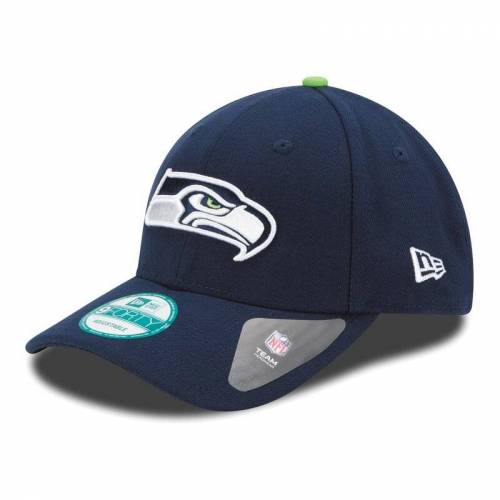 NewEra New Era NFL 9FORTY Seattle Seahawks Game Cap, navy