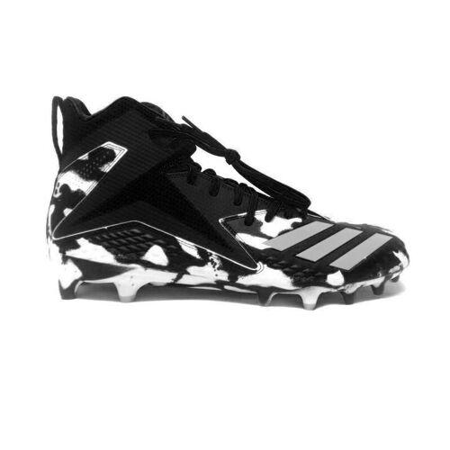 Adidas Freak Mid RC X Carbon Rattle American Footballschuhe - schwarz/weiß Gr. 13.5 US