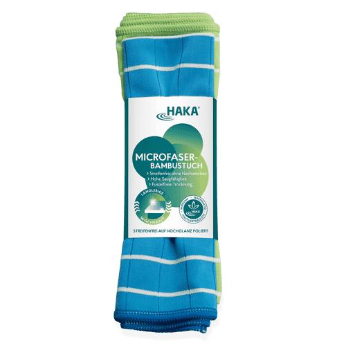 Haka Microfaser-Bambustücher   2 Stück