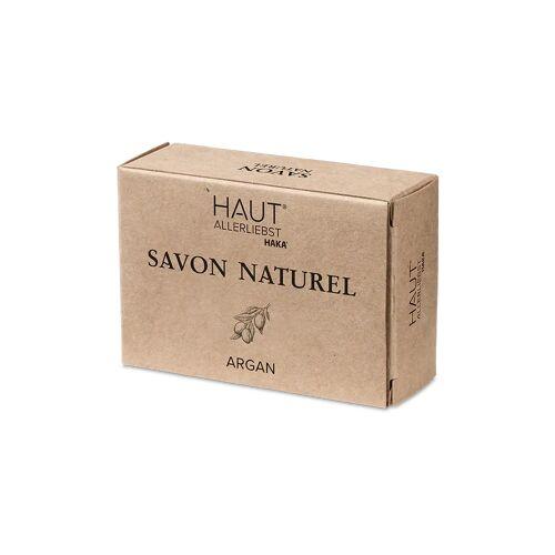 HAUTALLERLIEBST Savon Naturel Arganöl Seife   1 Stück