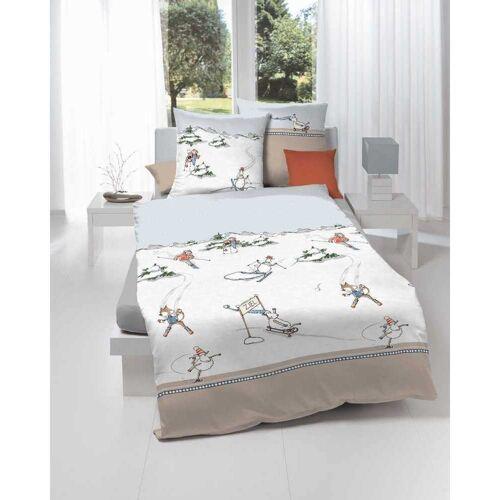 Kaeppel Biber Kinderbettwäsche Auf schnellen Kuf 135x200 cm + 80x80 cm