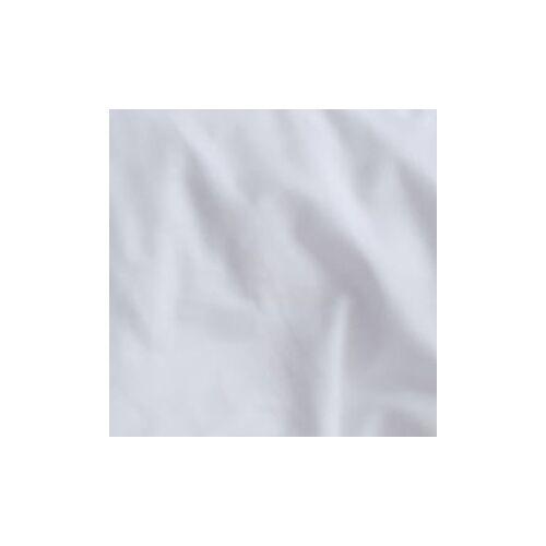 etérea Himmlische Qualität etérea Uni Einfarbige Mako Satin Kissenbezug 40x80 cm Kissenbezug Weiß