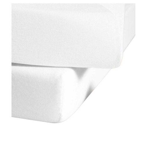 fleuresse Single Jersey Spannbettlaken Jenny C 150x200 cm Weiß