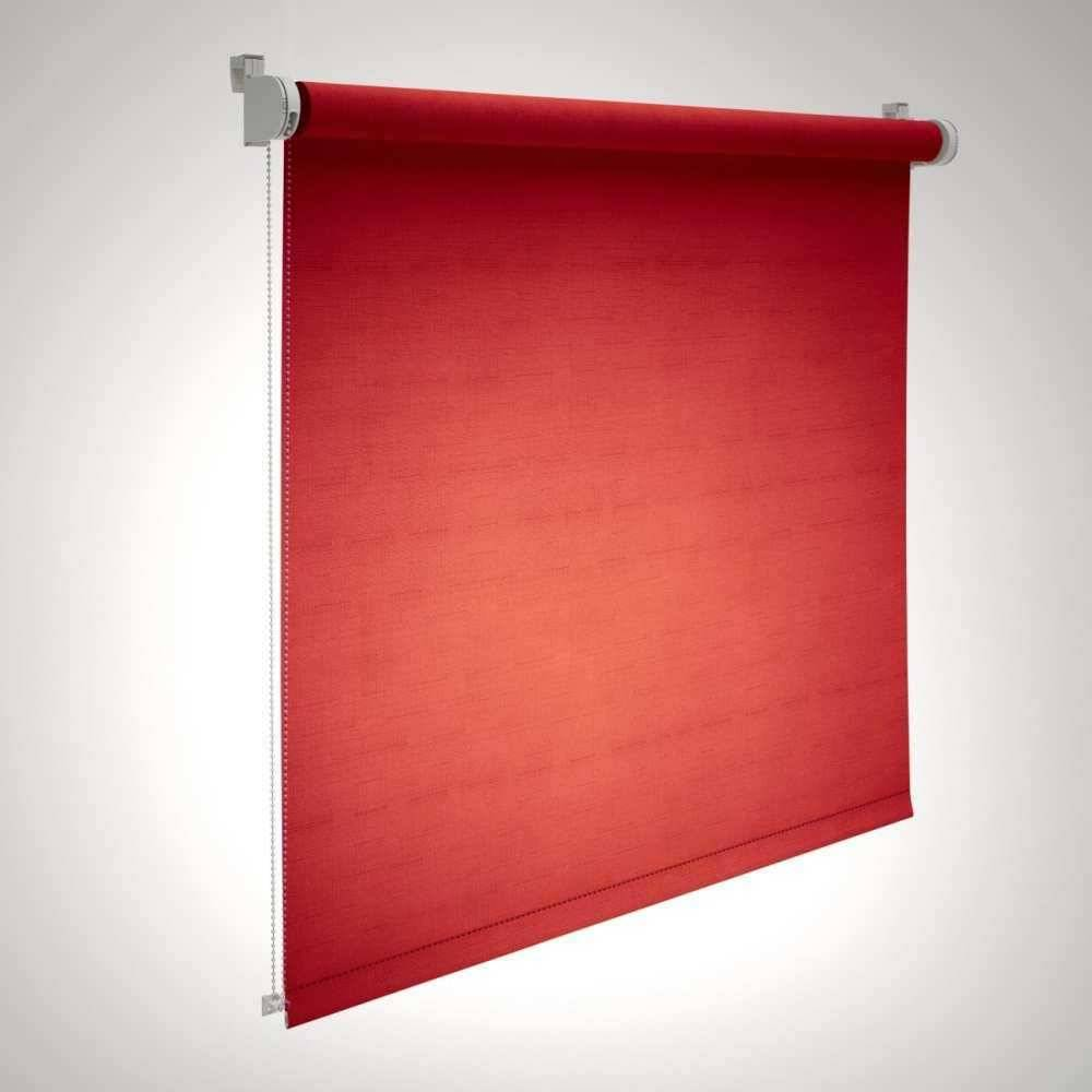 etérea Himmlische Qualität etérea Verdunklungsrollo Klemmfix Plissee Rollo 80 cmx160 cm Rot