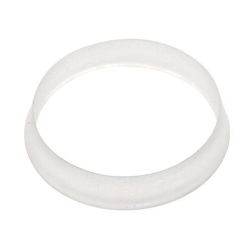 HAAS Siphon-Keildichtung 44 x 39 x 8 mm Dichtungen für Sifons Ø 44 x Ø 39 mm 8 mm Starck aus Kunststoff, transparent 6114