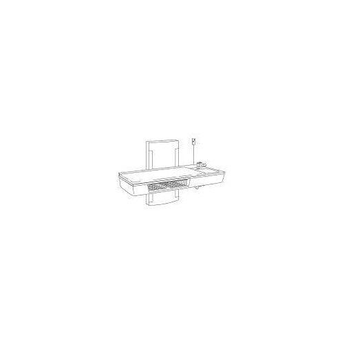 Pressalit Wickeltisch wandhängend 80 x 180 cm bodennah höhenverstellbar, mit sanitären Artikeln Wickeltische B: 180 T: 90 H: 116,5 cm weiß