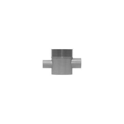 ESS Easy Drain Multi Siphongehäuse für Waschbeckenanschluss , Abgang waagerecht 50 Zubehör Ø 5 cm für Waschbeckenanschluss EDMSI-2