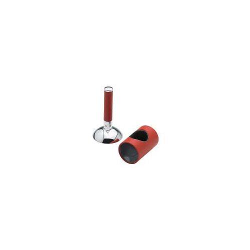 Damixa Arc Abdeckung und Griff für Waschtisch Bidet und Küchenarmatur  Abdeckung und Griff chrom/rot 484107500
