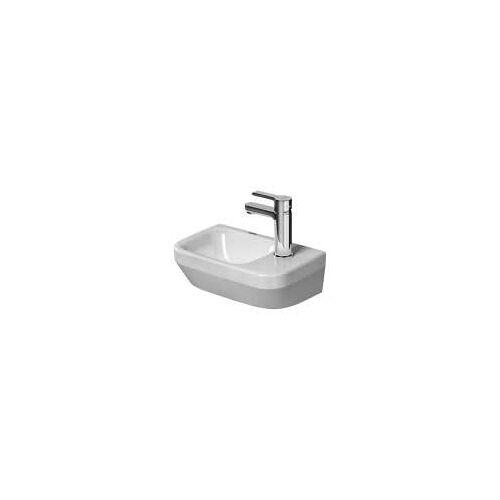 Duravit DuraStyle Handwaschbecken 36 cm, mit 1 Hahnloch rechts DuraStyle B. 36 T: 22 cm weiß 0713360000