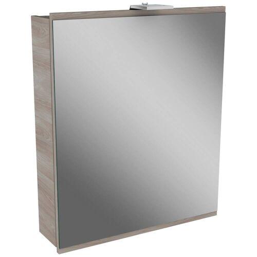 Fackelmann LIMA LED Spiegelschrank 60 cm   steinesche / steinesche 84882