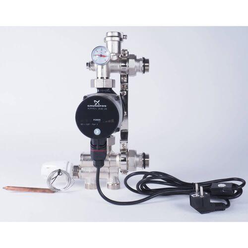 Megabad Profi Collection Festwertreglerset mit selbstregulierender Pumpe Fußbodenheizung B: 32,5 H: 28 cm Festwertregler-Set MBFWRSMHP