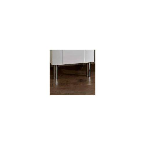 Pelipal Fokus 3005 Fuß-Set Fokus 3005 H: 10 cm chrom 993.000580