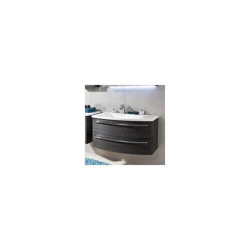 Puris Crescendo Waschtischunterschrank 90 x 47 x 48 cm, für Waschtisch mit Ablage rechts Crescendo B: 90 T: 47 H: 48 cm polarweiß hochglanz