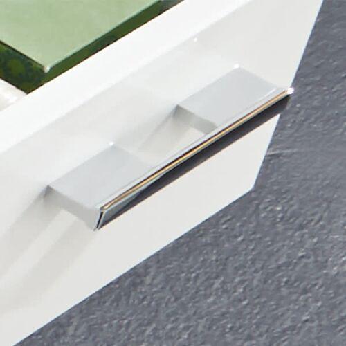 Puris Cool Line Ersatzgriff 292 mit Bohrabstand 9,6 cm Cool Line Bohrabstand 9,6 cm chrom 504172-Griff-292-9,6